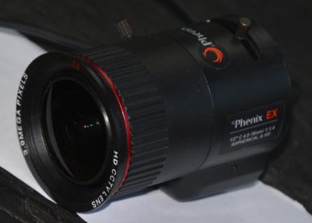 凤凰光学镜头PVH04D14-3MEX-安防产品测试 安防产品测评中心图片