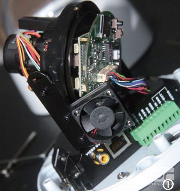 自动对焦防破坏球型网络摄像机