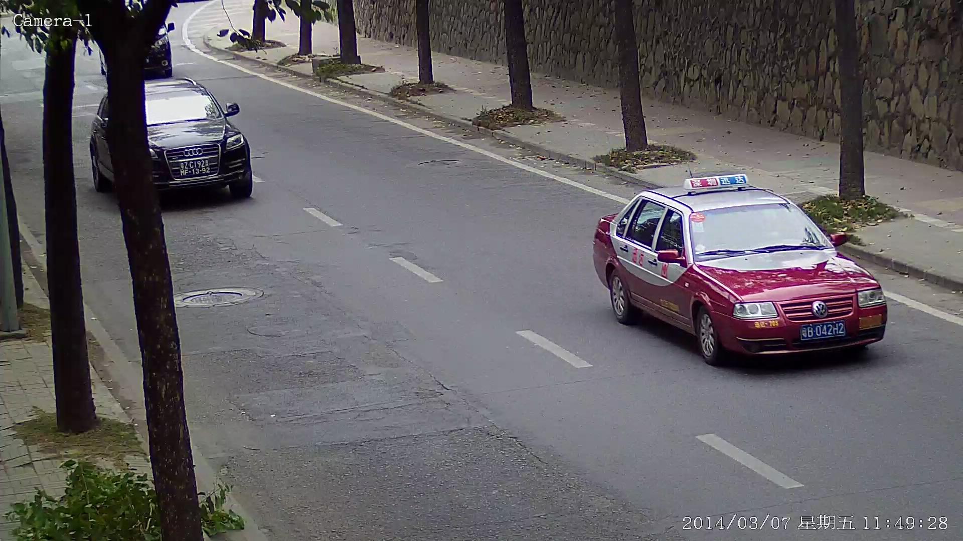 数字高清车牌摄像机 道路监控摄像机